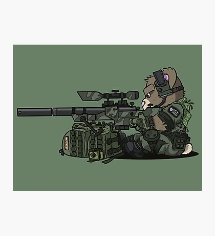 SKOPE (OD Green) Photographic Print