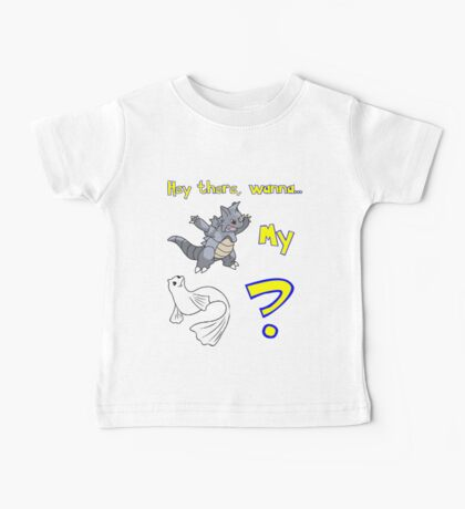 Pokemon Pickup Line Baby Tee