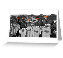 Tough Mudder - Victors Greeting Card