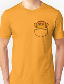 Pocket monkey is highly suspicious T-Shirt