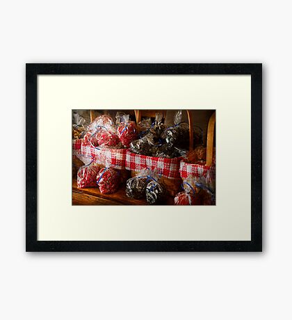 Food - Candy - Licorice Bites Framed Print