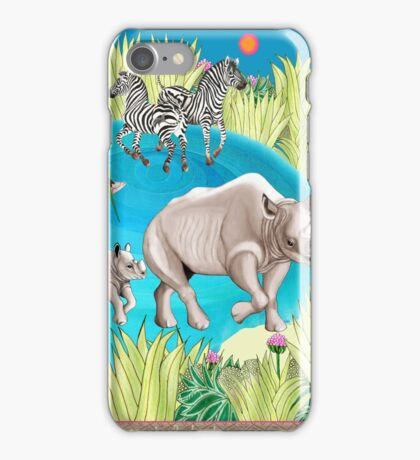 Exotic Encounters by Ro London - Menagerie Collection iPhone Case/Skin