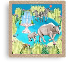 Exotic Encounters by Ro London - Menagerie Collection Canvas Print