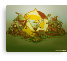 Keep Hyrule Green (modern) Canvas Print