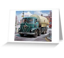 ICI Foden tanker Greeting Card