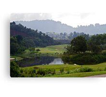 Red Mountain Golf Club, Phuket, Thailand Canvas Print