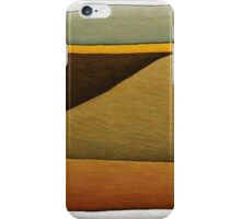 Burnt Field with Canola Crop iPhone Case/Skin