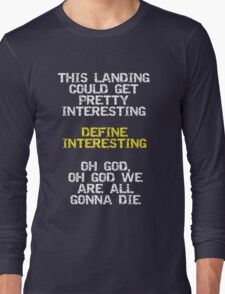 Define Interesting Long Sleeve T-Shirt