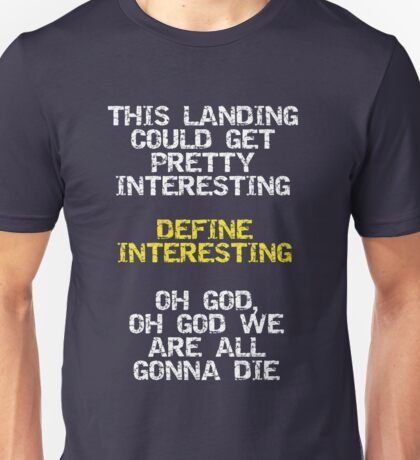 Define Interesting Unisex T-Shirt