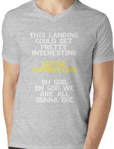 Define Interesting Mens V-Neck T-Shirt