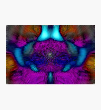 Explosion of colours Photographic Print