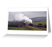 Swanage Branch Freight Greeting Card