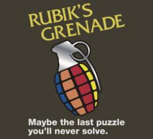 Rubik's Grenade by Blackwing