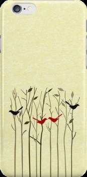Autumn Love iPhone iPhone & iPod Case by David & Kristine Masterson