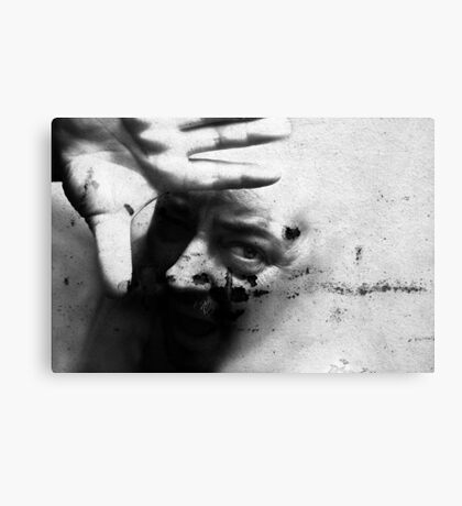 The Screaming Wall Canvas Print