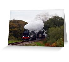 Swanage Branch Freight 2 Greeting Card