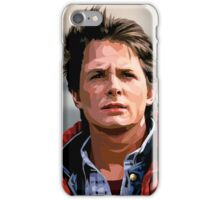 NOW IS THE FUTURE - Marty Mcfly  iPhone Case/Skin