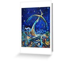 The Fifth Day of Creation Greeting Card