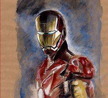 Iron Man by Anton Van Dort