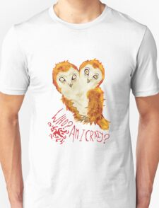 Optimistic Owl Unisex T-Shirt