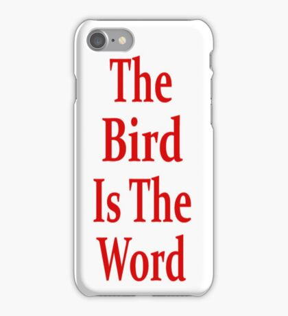 The Bird Is The Word - Family Guy - (Designs4You) iPhone Case/Skin