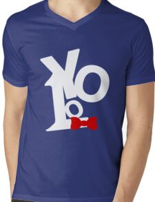 "You Only Live Once ""YOLO"" Mens V-Neck T-Shirt"