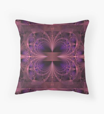 Point Of Attraction Throw Pillow