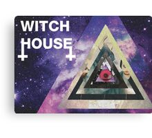 Witch house conspiracy  Canvas Print