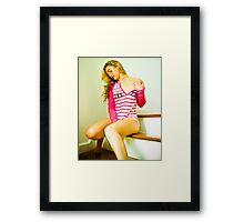 Tina-Pink-2 Framed Print