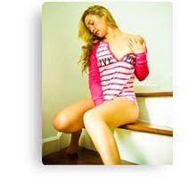 Tina-Pink-2 Canvas Print