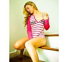 Tina-Pink-2 Photographic Print