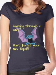 Golbats are trolls... Women's Fitted Scoop T-Shirt