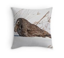 Fuel Up Time Throw Pillow