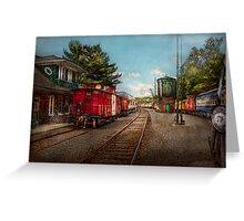 Train - Caboose - Tickets Please Greeting Card