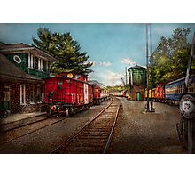 Train - Caboose - Tickets Please Photographic Print