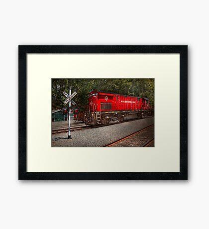 Train - Diesel - Morristown Erie  Framed Print