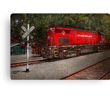 Train - Diesel - Morristown Erie  Canvas Print