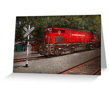 Train - Diesel - Morristown Erie  Greeting Card