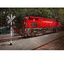 Train - Diesel - Morristown Erie  Photographic Print