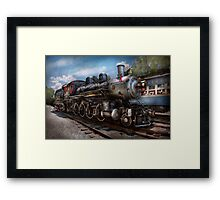 Train - Steam - 385 Fully restored  Framed Print
