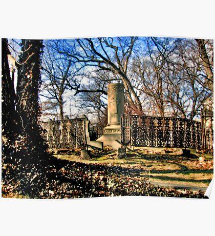 Manhattan Cemetery Poster