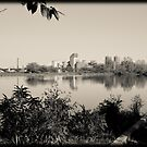 The Charles in Black and white by apsjphotography