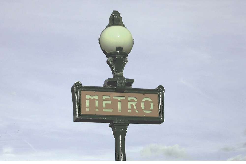 This Way to the Metro by KathMaster