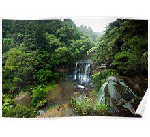 Mokoroa Falls Collection # 1 Poster