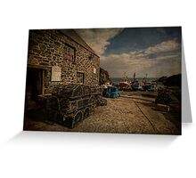 Cadgwith cove Cornwall Greeting Card