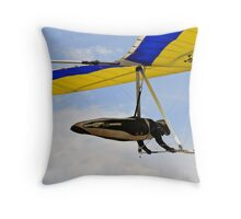 Competitor, British National Championships Throw Pillow
