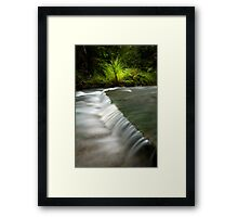 Mokoroa Falls Collection # 7 Framed Print
