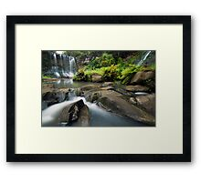 Mokoroa Falls Collection # 3 Framed Print