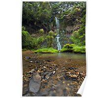 Mokoroa Falls Collection # 5 Poster