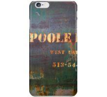Poole iPhone Case/Skin